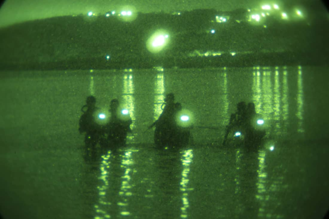 Night Vision - Navy - Guam